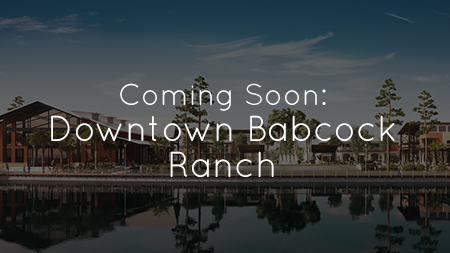 Downtown Babcock Ranch Will Be Open for Business in Early 2017