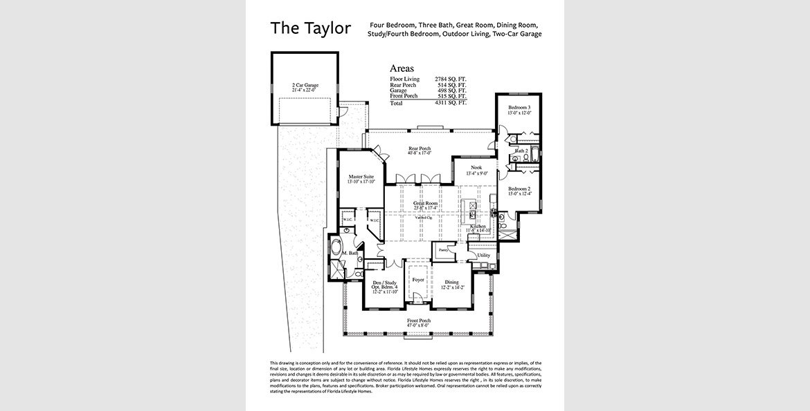 The Taylorfloorplan