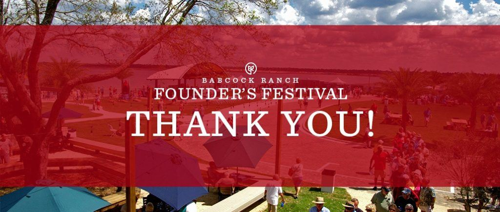 Founders Fest Thank You