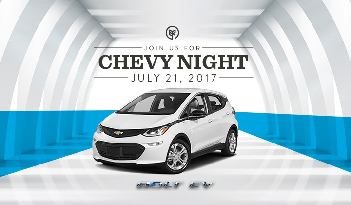 Join Us for Chevy Night: The Florida Debut of the Chevrolet Bolt