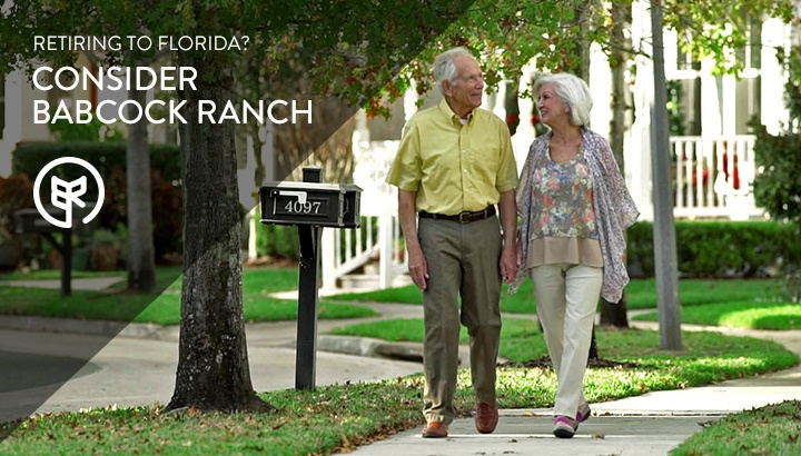 Retiring to Florida? Consider Babcock Ranch