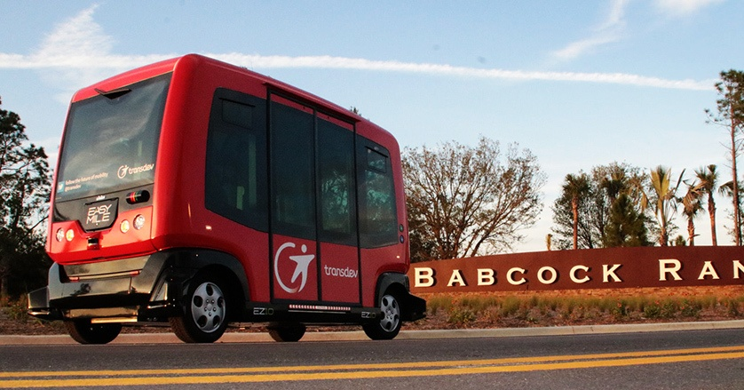 New Driverless Shuttles to Hit the Roads in Babcock Ranch