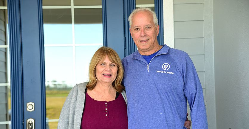Richard and Robin Kinley are First Residents of 17,500-acre Master-Planned Community of Babcock Ranch