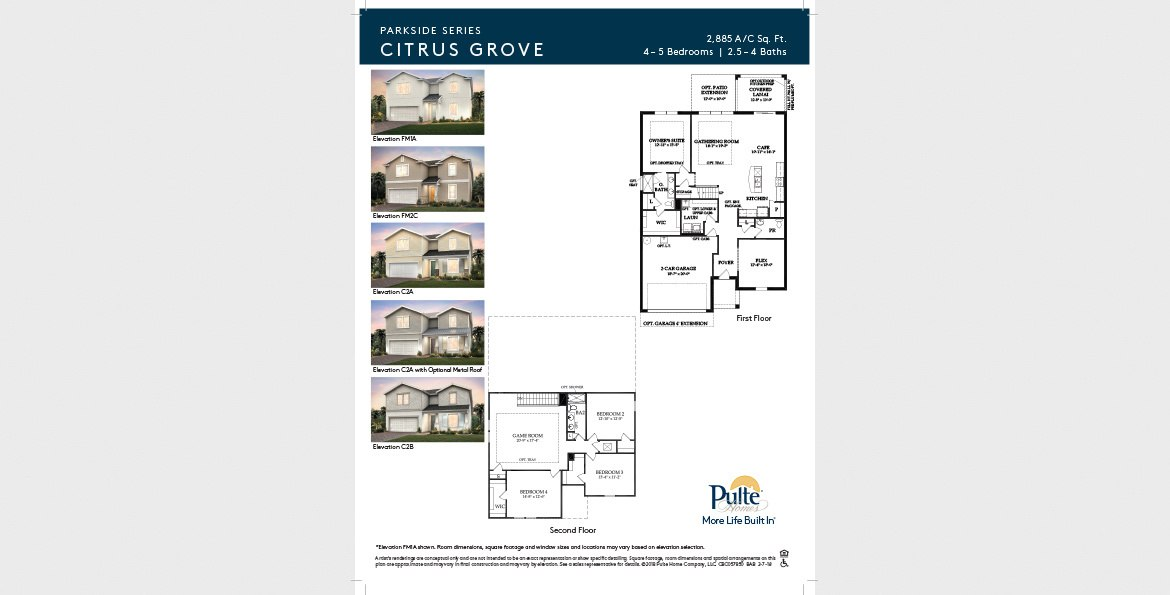 Citrus Grovefloorplan