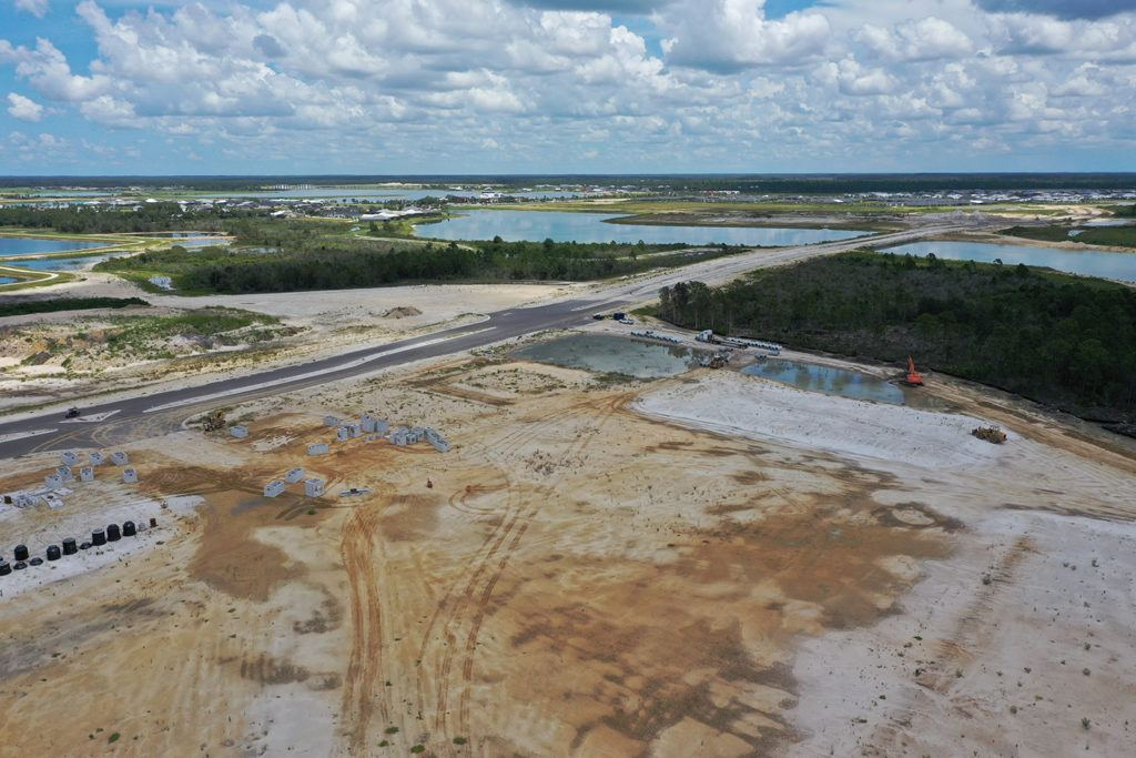 Infrastructure work commences at Crescent B Commons shopping center at Babcock Ranch: Vertical construction scheduled to begin fourth quarter 2020